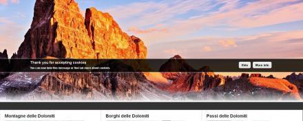 Dolomiti portal - portale Dolomiti